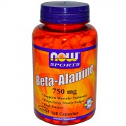 Заказать NOW Beta-Alanine 750 мг 120 капс